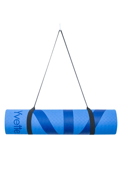 Yogamatte Fast Forward Royal Blue - Yvette Sports