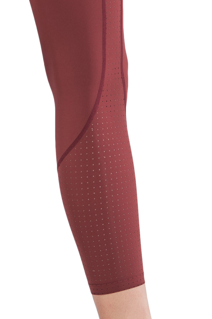 Leggings Eve Red - Yvette Sports