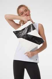 Bag Urban Nature White/Black - Yvette Sports