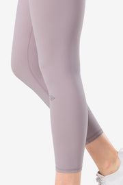 Yoga Leggings Charly Light Purple - Yvette Sports