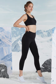 Leggings Perfect Black - Yvette Sports