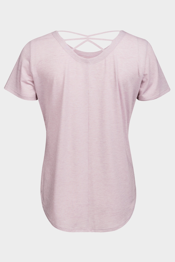 T-Shirt Suzy Pink - Yvette Sports