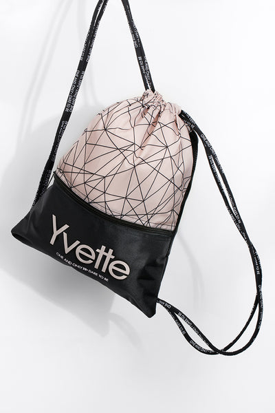 Rucksack Easy Pink/Black - Yvette Sports