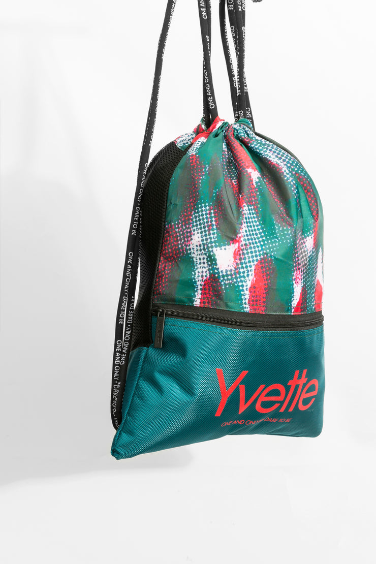 Rucksack Easy Green/Red - Yvette Sports