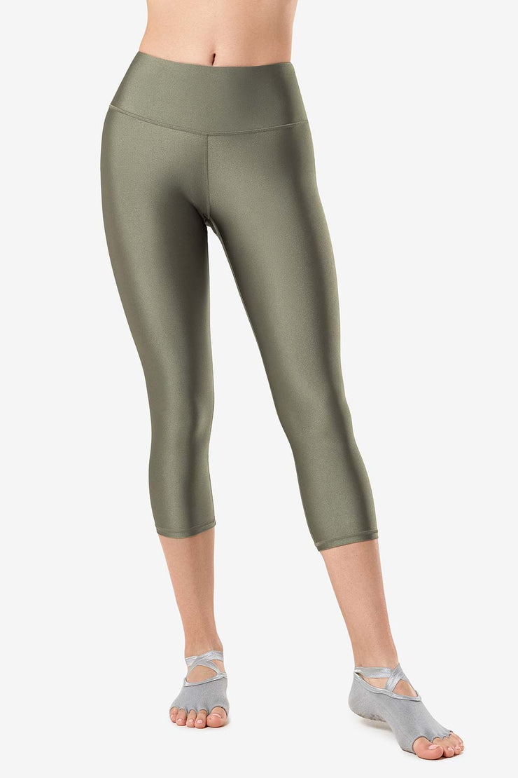 Leggings Glow Green - Yvette Sports