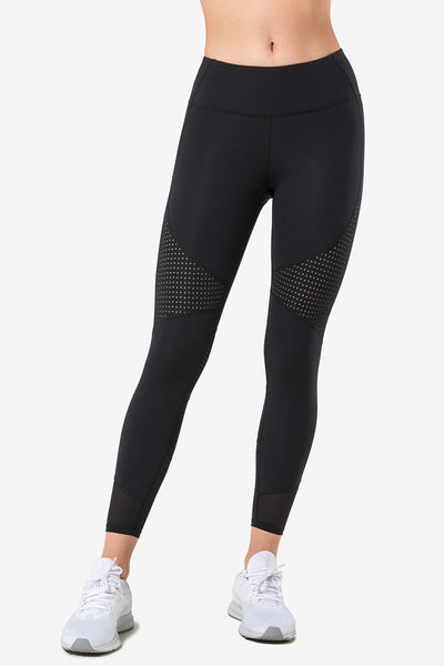 Leggings Run Black - Yvette Sports