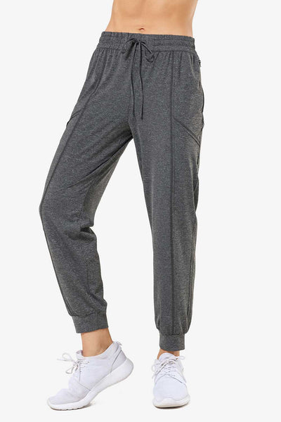 Leisure Pant Two Grey - Yvette Sports