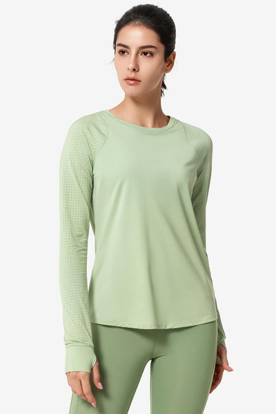 Longsleeve Katy Green - Yvette Sports