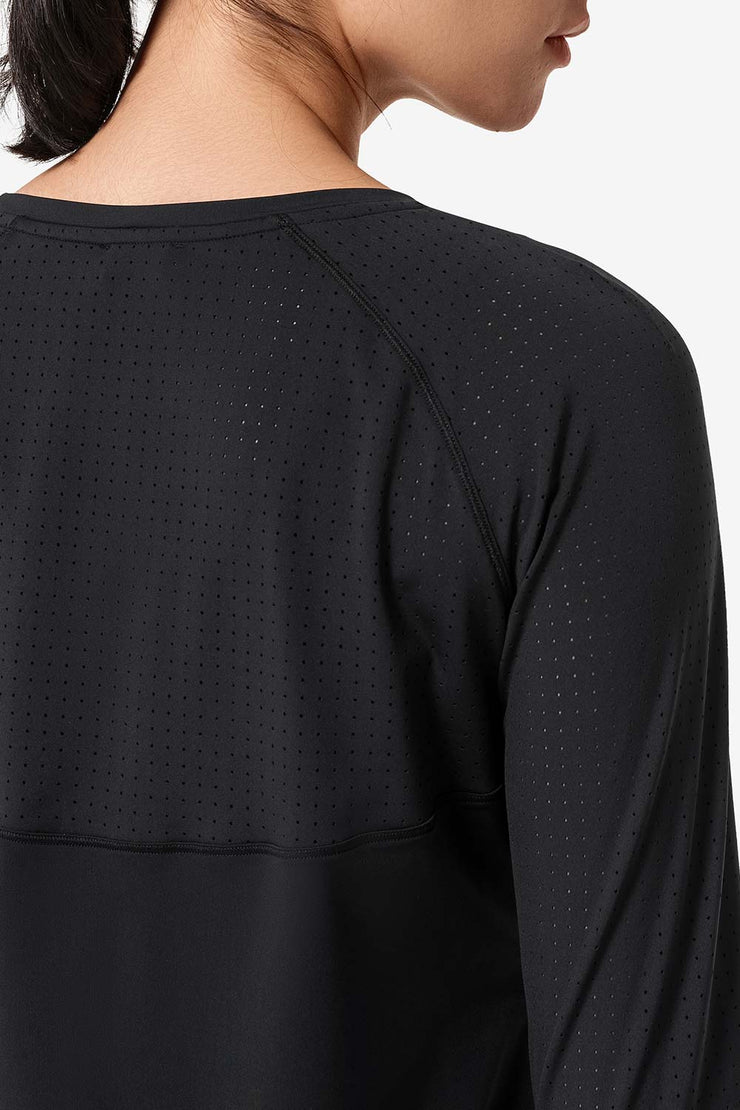 Longsleeve Katy Black - Yvette Sports