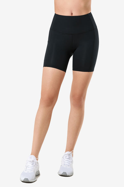 Shorts Ruby Black - Yvette Sports
