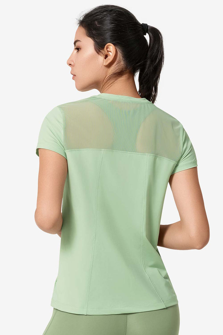 T-Shirt Katy Green - Yvette Sports