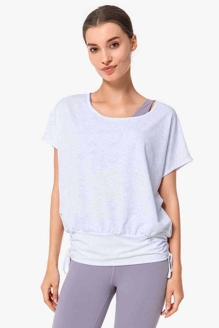 T-Shirt Solo White - Yvette Sports
