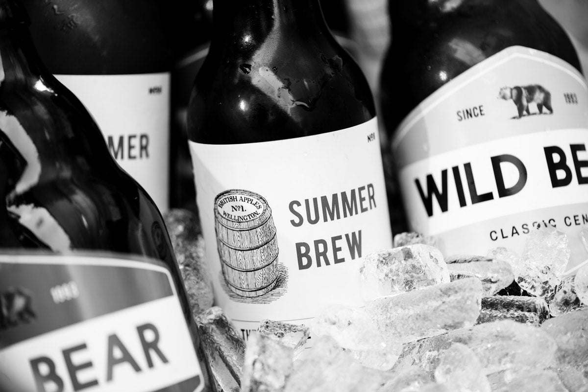 Craft Beer on Ice : Image by RawPixel