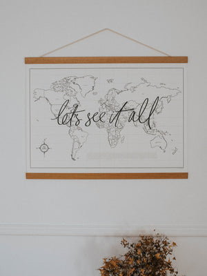 Let's See it All - World Map