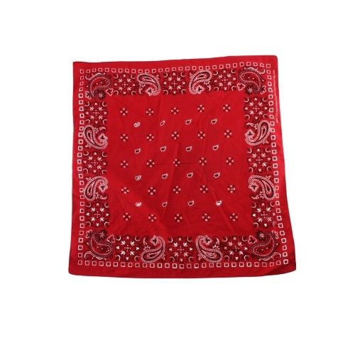 Vintage Classic Red Bandana - Vintage & Rags