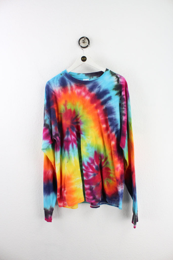 Vintage Colorful Batik Long Sleeve T-Shirt (XL) - Vintage & Rags