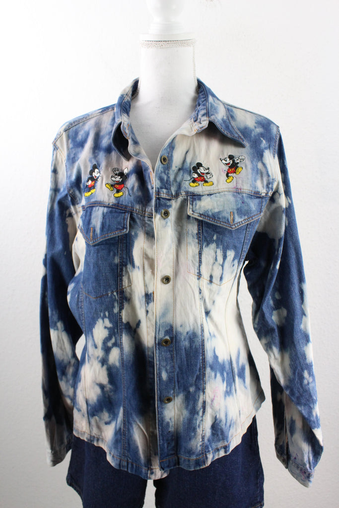 Vintage Mickey Jeans Shirt (XL) - Vintage & Rags