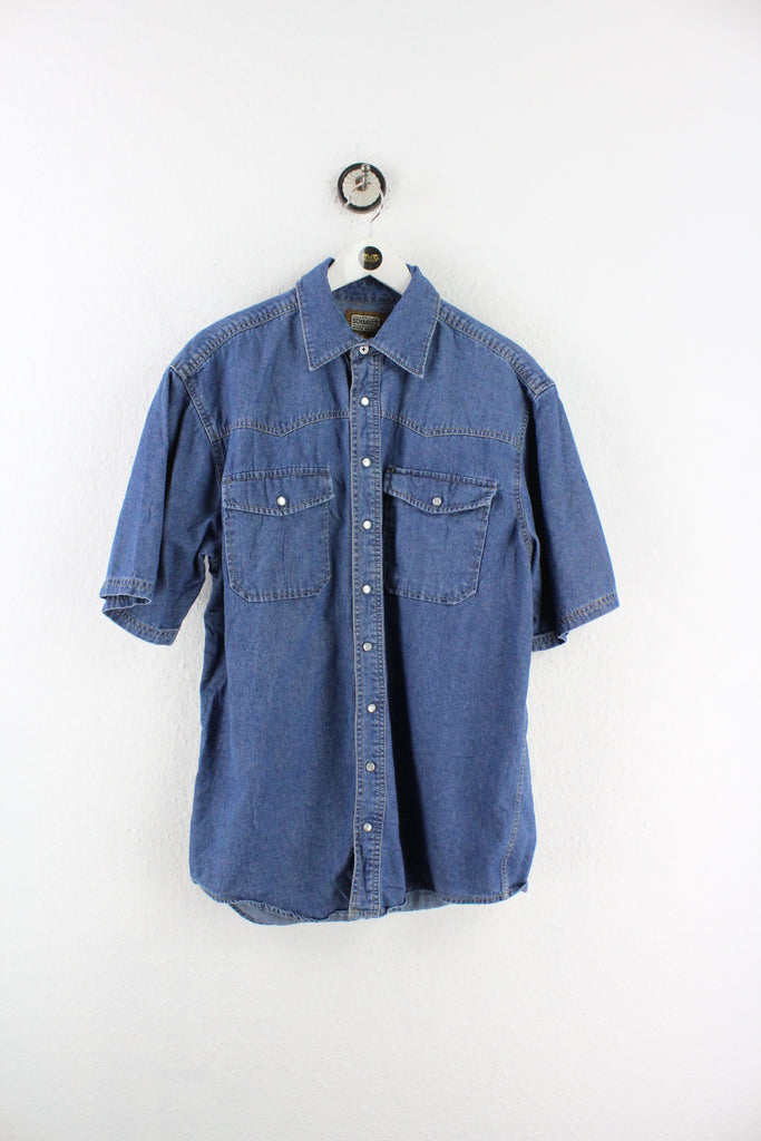 Vintage Schmidt Work Wear Denim Shirt (M) - Vintage & Rags