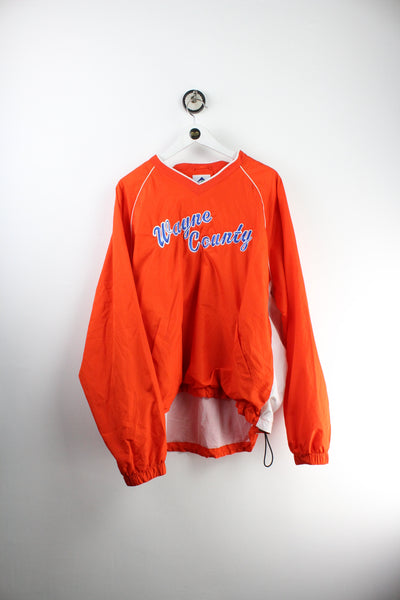 Vintage Softball Zipper Sweatshirt (M)