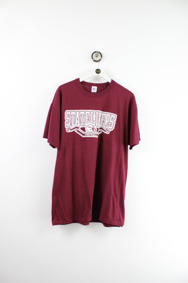 Vintage Red And White San Jose T-Shirt (L) - Vintage & Rags Online
