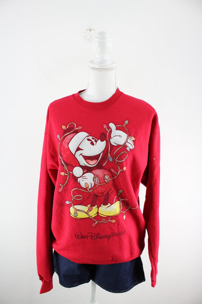 Vintage Mickey Mouse Longsleeve (M)