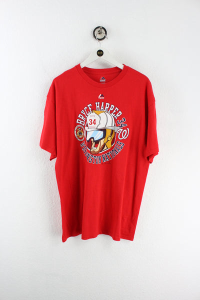 Vintage Bryce Harper Firefighter T-Shirt (XL)
