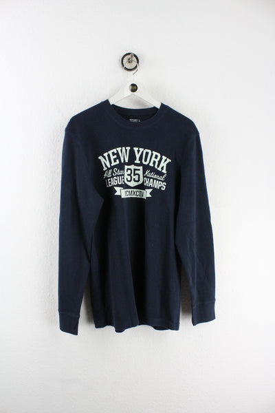 Vintage NY League Champs 1994 Long Sleeve T-Shirt (L)