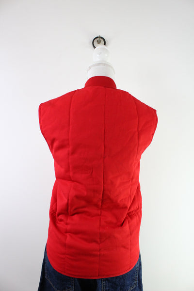 Vintage Red Dickies Polyester Jacket ( XXL )