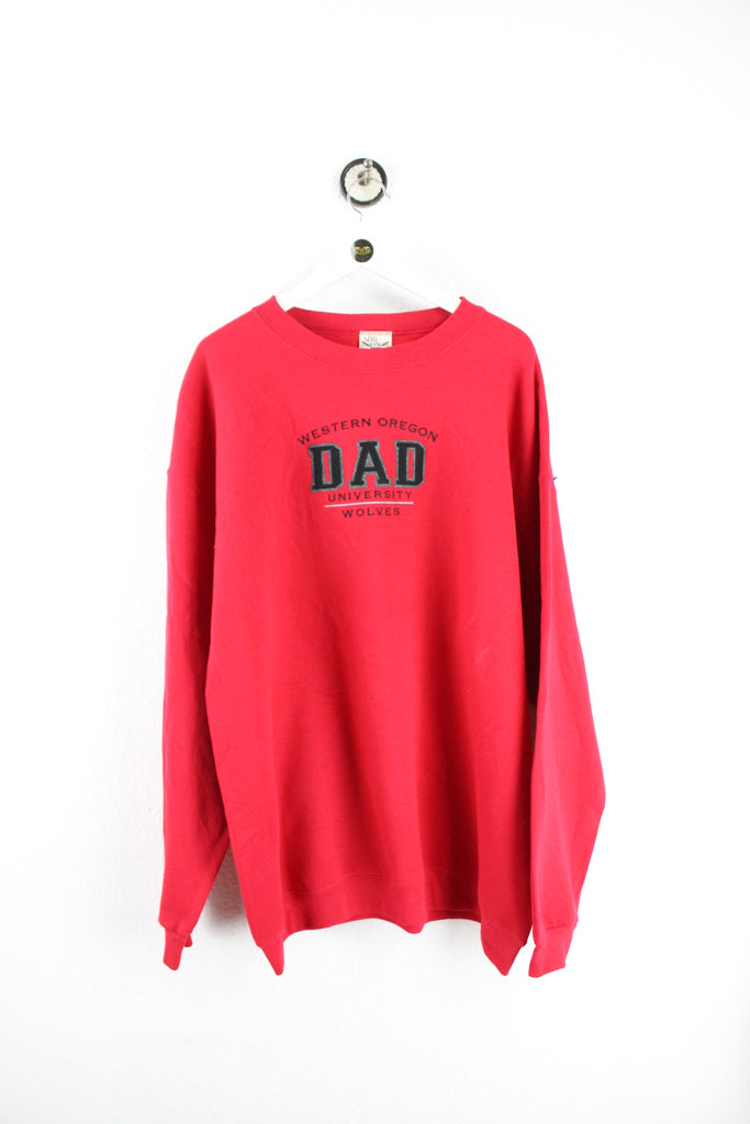 Vintage Western Oregon Dad University Sweatshirt (XL) - Vintage & Rags Online