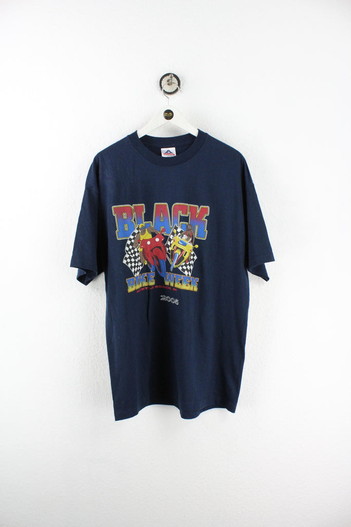 Vintage Black Bike Week T-Shirt (XL) - Vintage & Rags Online