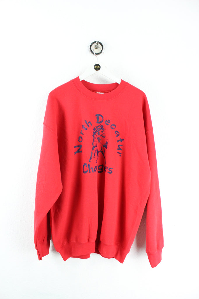 Vintage North Decatur Chargers Sweatshirt (XL) - Vintage & Rags Online