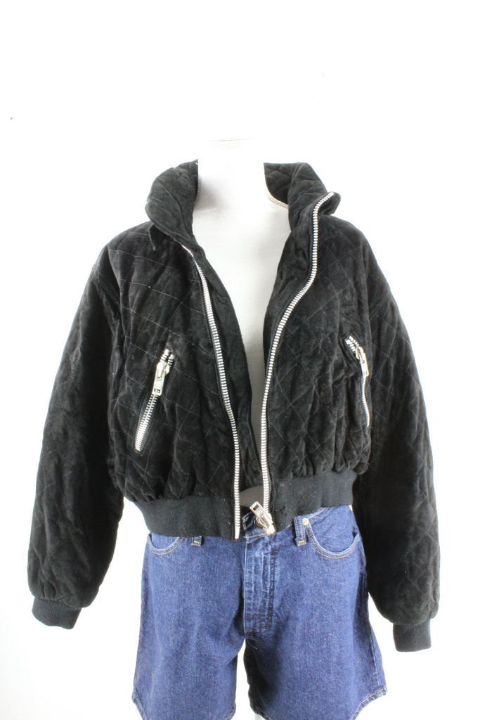 Vintage Leather Jacket (L) - Vintage & Rags Online