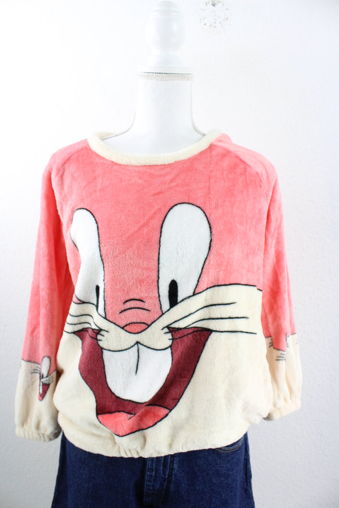 Vintage Fuzzy Bunny Pullover (S) - Vintage & Rags