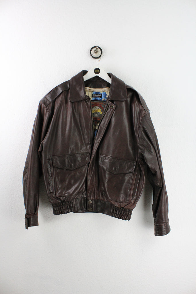 Vintage Thinsulate Leather Jacket (S) - Vintage & Rags