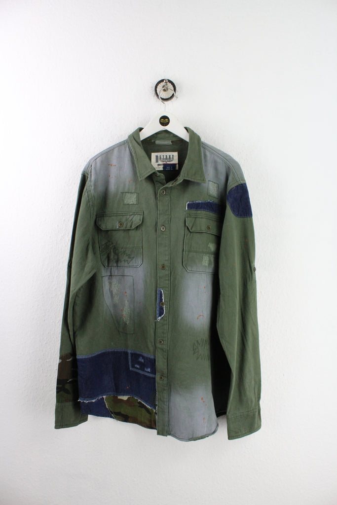 Vintage DSTRKT Denim Patch Shirt (XXL) - Vintage & Rags