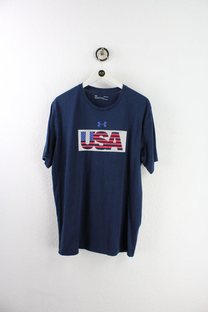 Vintage Under Armour USA T-Shirt (L) - Vintage & Rags