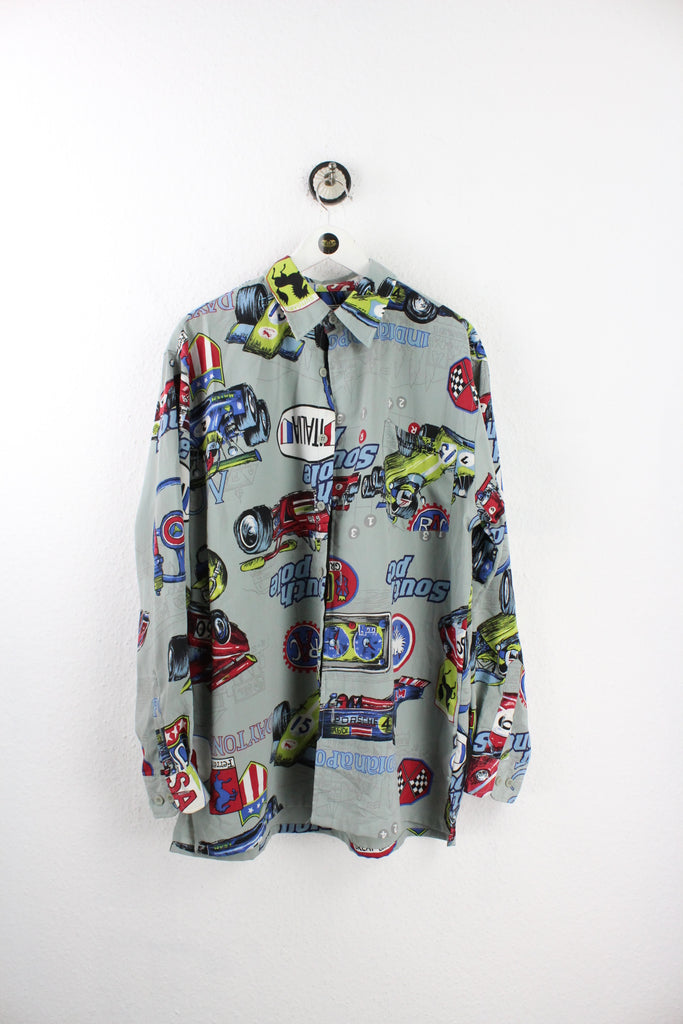 Vintage Italian Racing Party Shirt (M) - Vintage & Rags