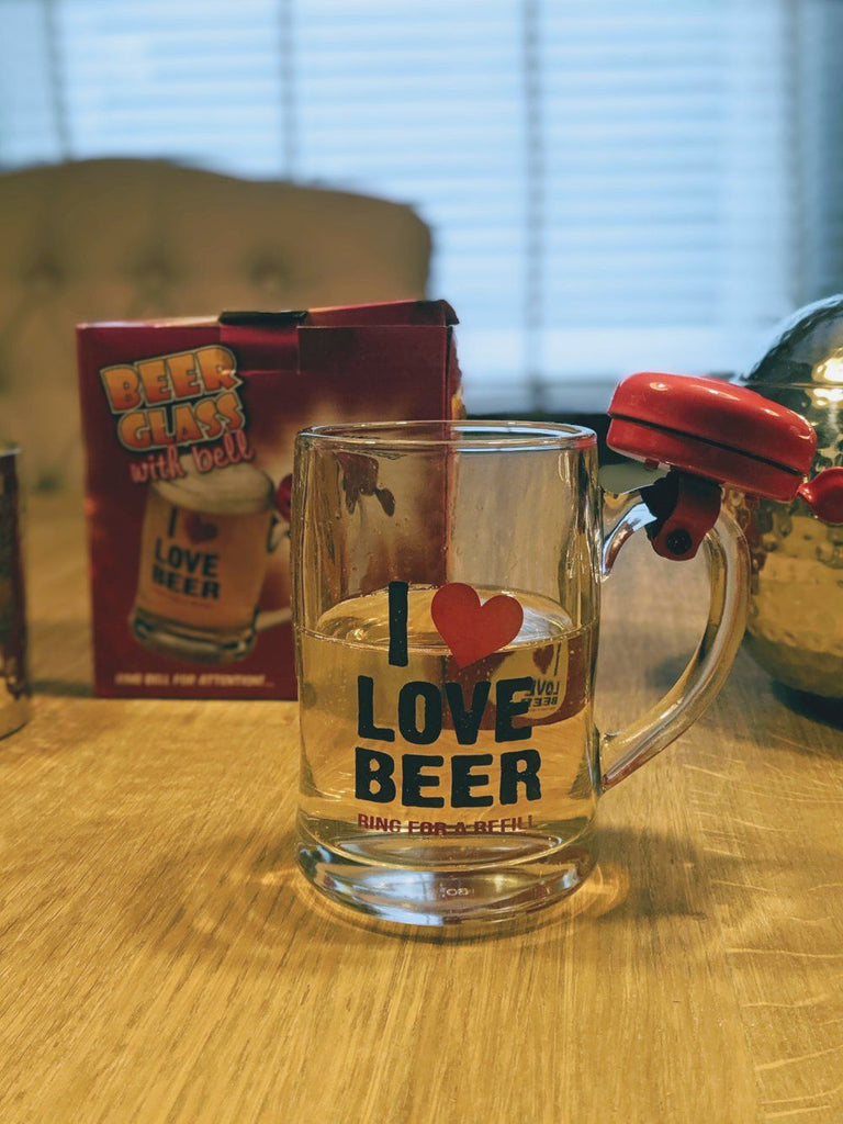 I Love Bear Glass Cup - Vintage & Rags