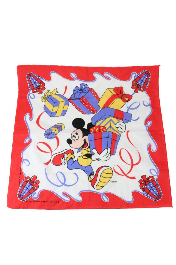 Mickey's Presents Bandana - Vintage & Rags Online
