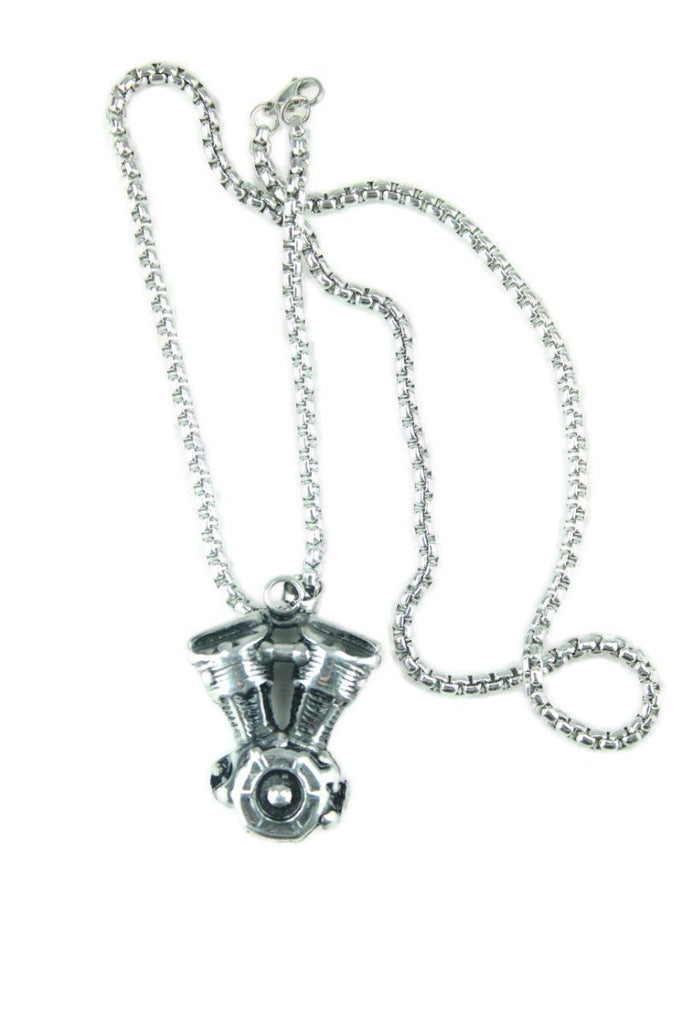 Motor Stainless Steel Necklace - Vintage & Rags