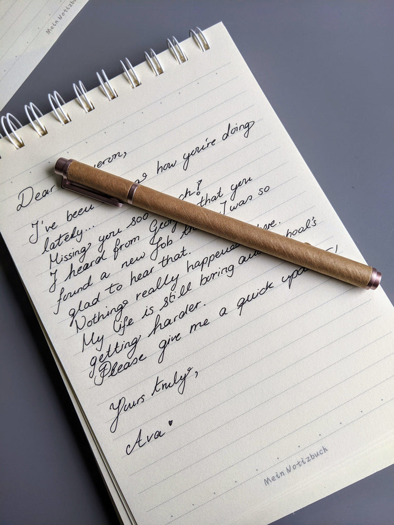 Nature Paper Pen Set (12) - Vintage & Rags Online