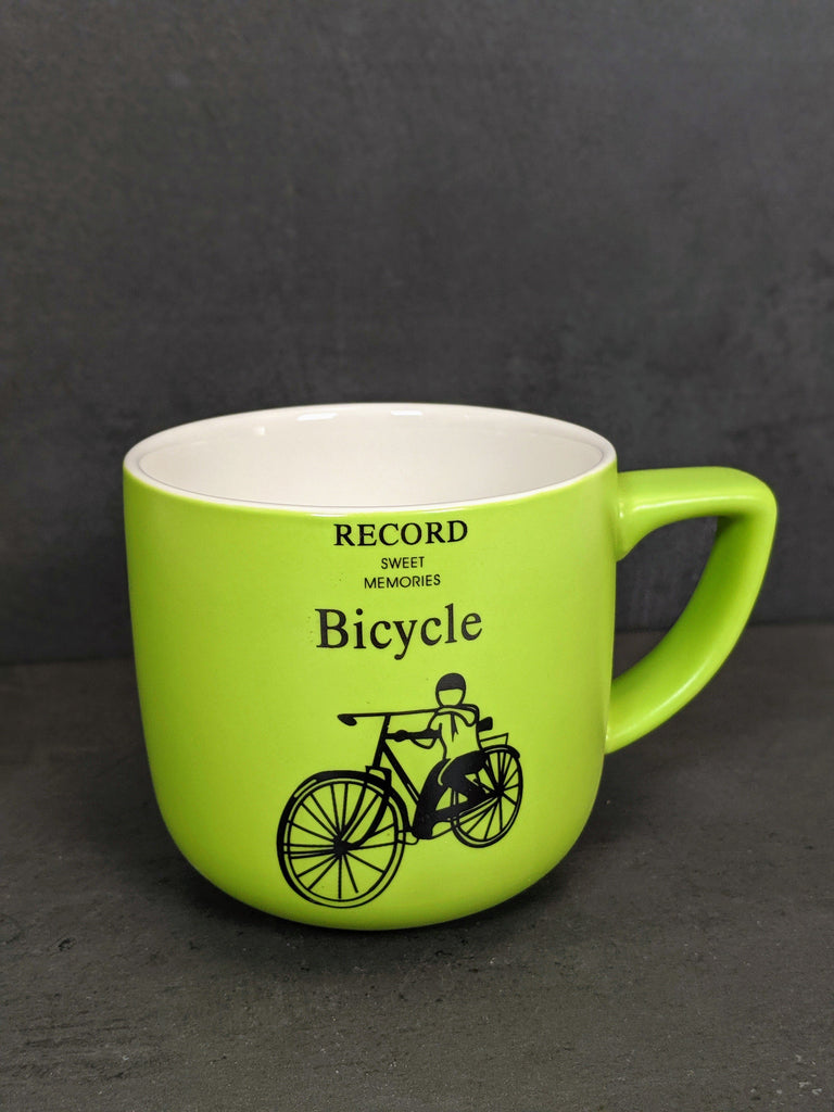 The retro Bicycle Cup (400ml) - Vintage & Rags