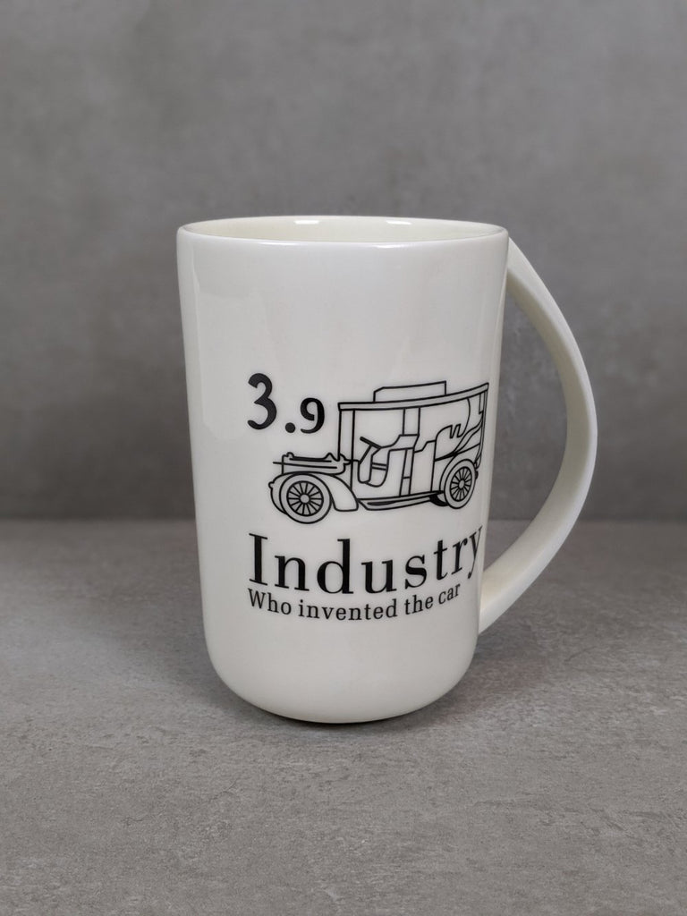 The retro Industry Cup (400ml) - Vintage & Rags