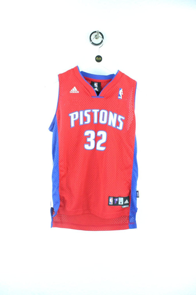 Vintage Adidas NBA Pistons 32 Women Jersey ( M ) - Vintage & Rags Online