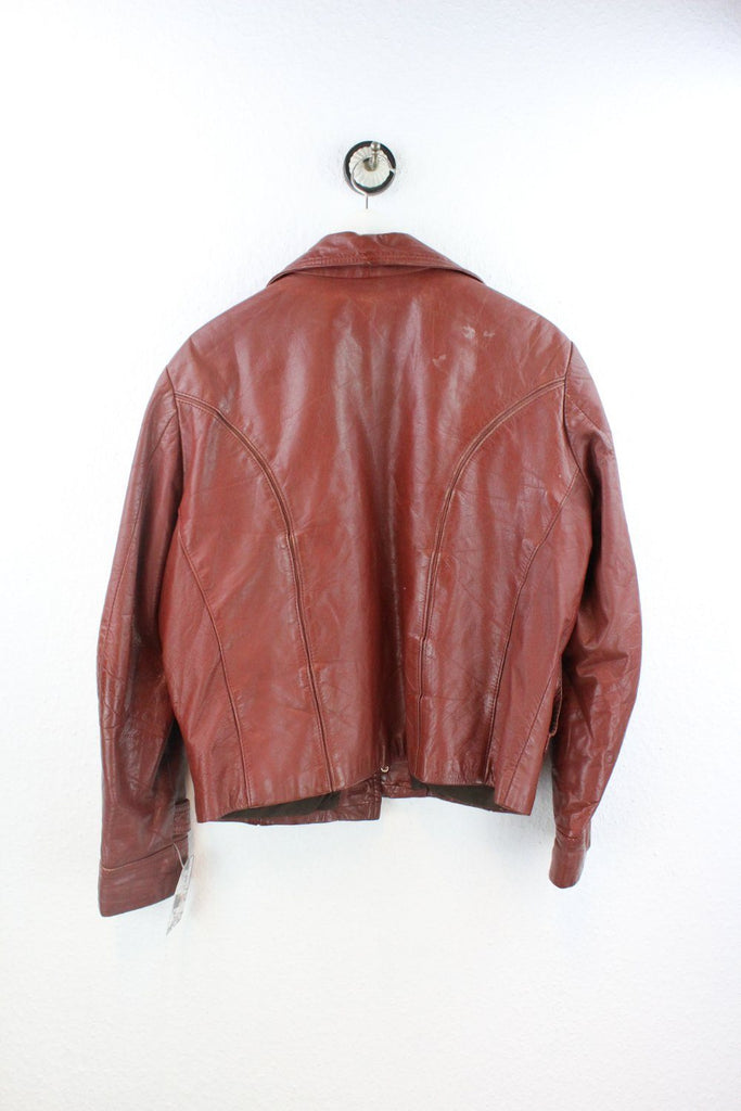 Vintage Brown Leather Jacket ( M ) Vintage & Rags Online