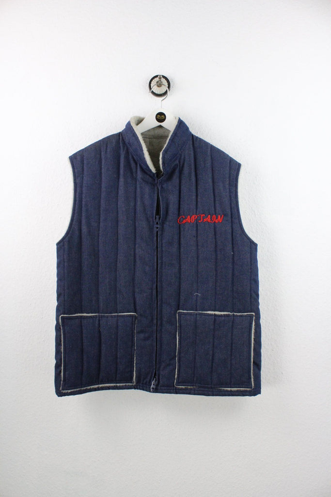 Vintage Captain Denim Vest (L) Yeeco KG