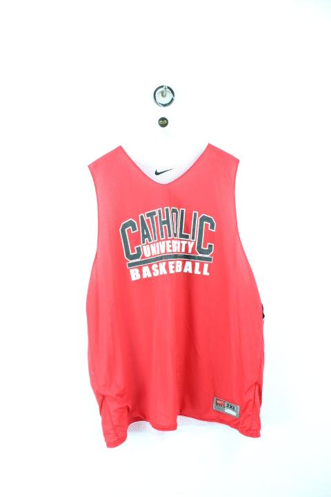 Vintage Catholic University Basketball Jersey (XXL) Yeeco KG