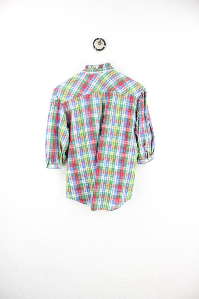 Vintage Colorful Caro Blouse ( XS ) - Vintage & Rags