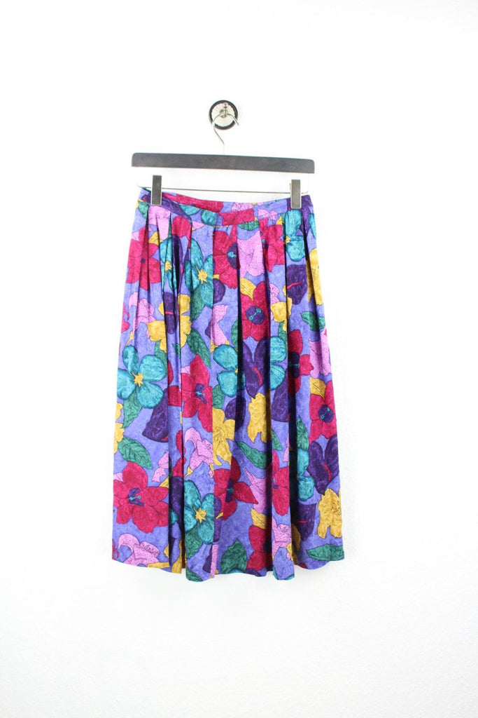 Vintage Colorful Flower Skirt (M) - Vintage & Rags
