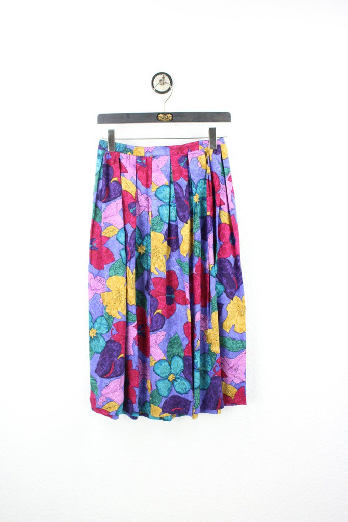 Vintage Colorful Flower Skirt (M) Vintage & Rags Online